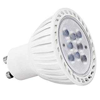 Torchstar #Dimmable# MR16 GU10 LED Light Bulb, 7W (60W Equivalent), 5000K Daylight, 36° Beam Angle, 500Lm, UL-Listed, 110V for Track Lighting, Recessed Light, 2 Years Warranty