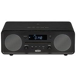 Jensen All in One Bluetooth Digital Alarm Clock AM/FM Radio Cd Player