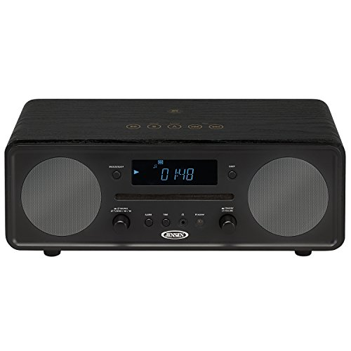 Jensen All in One Bluetooth Digital Alarm Clock AM/FM Radio Cd Player