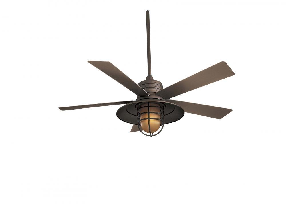 Minka Aire F582 Orb Rainman 52 Ceiling Fan Oil Rubbed Bronze Com