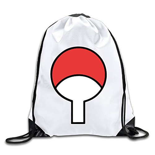Symbol Logo Drawstring Backpack Bag White (Jacquard Shopper)