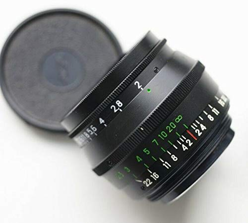 Jupiter-8 50mm F2 (Black Body) Vintage Screw Mount Lens. A Russian Zeiss Sonnar ...
