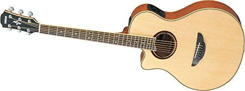 Yamaha APX700II Left Hand Acoustic Electric Guitar BUNDLE w/