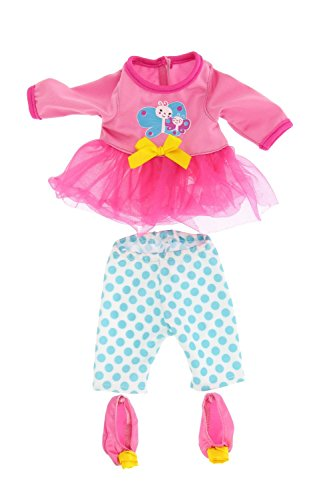 9687fd312ec Amazon.com  Baby Alive Pretty Lil Fashion Clothing Set – Features 3  Outfits
