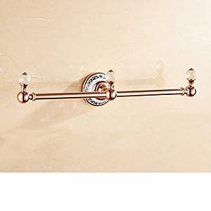 hot sale Copper Towel Bar/European style Towel rack/Towel Bar/copper rod/Bathroom accessories-C