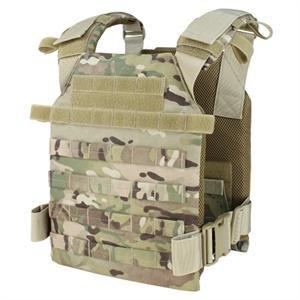 Plate Carrier Vest (Condor Sentry Vest | Tactical Vest | multiple color options (Multicam))