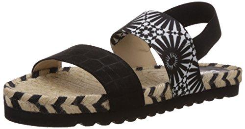 Desigual Shoes_ Formentera - Sandalias Mujer Negro