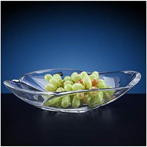 XL_FRUIT - Plato de Fruta Ovalado de Cristal con Plato de Fruta para el hogar: Amazon.es: Hogar
