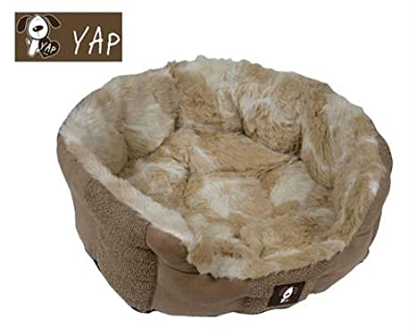 YAP perro cama del perro Delicato jirafa emulsor 55,88 cm (para lujo moderno reclinados, perros amor la comodidad de YAP cojines.