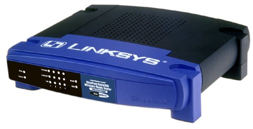 Cisco-Linksys BEFSR41 EtherFast Cable/DSL Router with 4-Port 10/100 Switch by Linksys