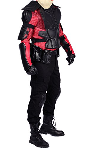 XCOSER Marksman Costume Cosplay Outfit for Mens Halloween XL