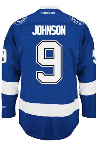 Tyler Johnson Tampa Bay Lightning NHL Home Reebok Premier Hockey Jersey