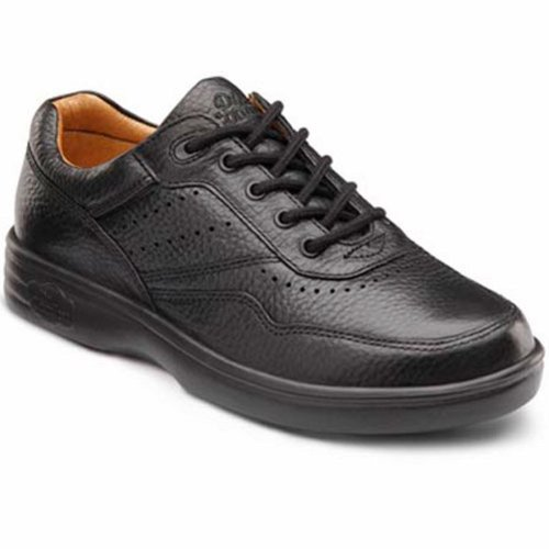 Dr. Comfort Patty Womens Therapeutic Diabetic Extra Depth Shoe Leather Lace Black od6NWPkUi
