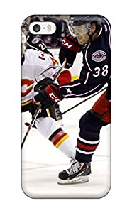Series Skin Case Cover For Iphone 5/5s(columbus Blue Jackets Hockey Nhl (38) )
