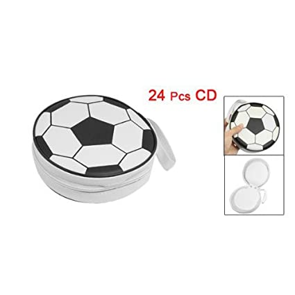 TOOGOO(R) Bolsa caja de almacenamiento DJ Sostenedor cartera de 24 disco CD DVD