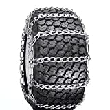 Snow Tire Chains for ATV, Snow Blower / Thrower 2 Link 20 x 8 x 8/10