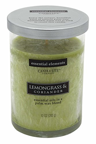 (Candle Lite-Large Jar Candle-Lemongrass & Coriander 283g/8.5x 8.5x 12cm)