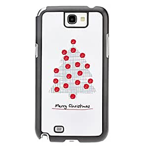 Christmas Tree Pattern Hard Case for Samsung Galaxy Note 2 N7100