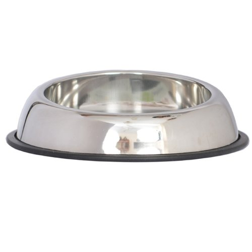 Iconic Pet 2-Cup Heavy Weight Non-Skid Easy Feed High Back Pet Bowl for Dog or Cat, 16-Ounce