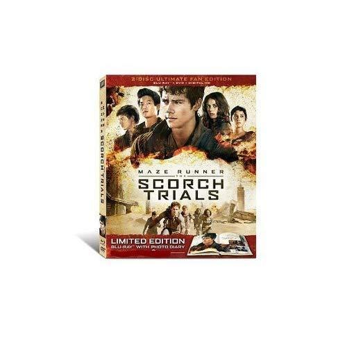 Maze Runner: The Scorch Trials – 2 discos Ultimate Fan Edition – Edición limitada Blu Ray con agenda de fotos – 24...