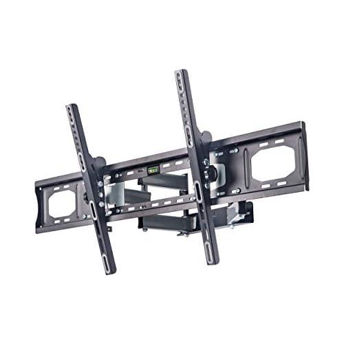 chollos oferta descuentos barato AmazonBasics Soporte de pared con movimiento en voladizo completo con seis brazos para televisión de 190 5 à 279 4 cm 75 110 gama Performance