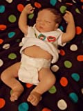 "Linda Webb Charlie Anatomically Correct So Truly Real Lifelike Baby Doll - 22"" by Ashton Drake"