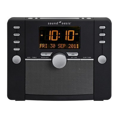 Sound Oasis S-5000 Deluxe Sleep Sound Therapy System, Black by Sound (Train Chime Clock)