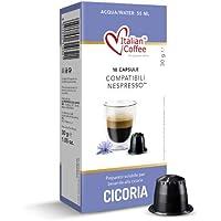 60 Capsule Caffè di Cicoria Solubile Italian Coffee compatibili macchine Nespresso