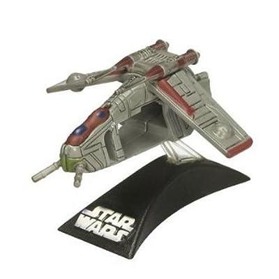 Star Wars Titanium Series 2008 Diecast Mini Republic Gunship (style and colors may vary)