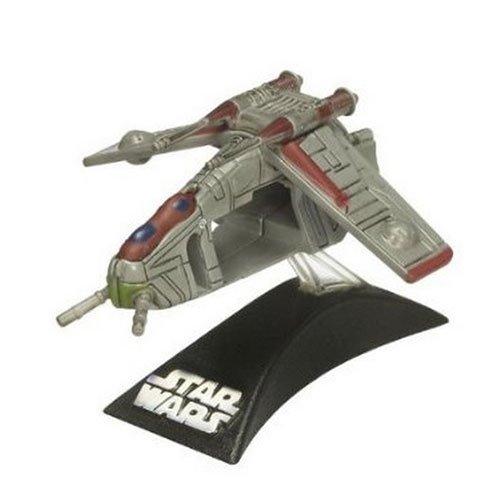 Star Wars Clone Wars Republic Gunship - Star Wars Titanium Series 2008 Diecast Mini Republic Gunship (style and colors may vary)