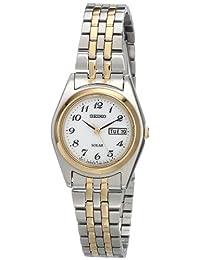 Seiko SUT116 Reloj de acero inoxidable en dos tonos para mujer