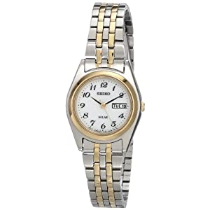 41MYM7Z iTL. SS300  - Seiko Women's SUT116 Stainless Steel Two-Tone Watch