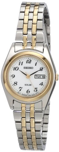 (Seiko Women's SUT116 Stainless Steel Two-Tone Watch)