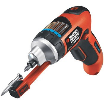 Factory-Reconditioned Black & Decker LI4000R 3.6V Lithium-Ion SmartDriver with Exclusive Magnetic Screw-Holder