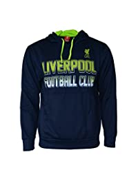 Liverpool Hoodie Pullover Fleece Sweatshirt Jacket Navy New Season