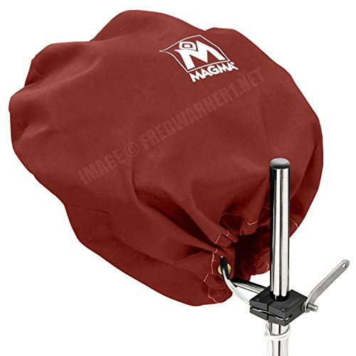 Magma Products, A10-492BU Cover (Burgundy), Sunbrella, Marine Kettle Grill Party Size