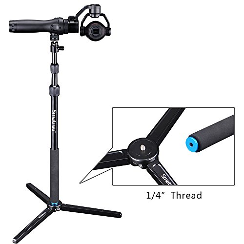 Smatree SmaPole DS1 Extendable Stick with Tripod for DJI OSMO, OSMO Mobile,OSMO PRO/RAW