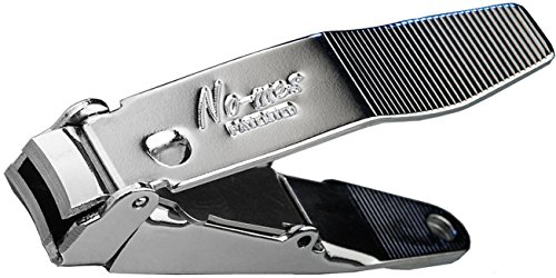 Genuine ''No-mes'' Nail Clipper with Catcher, Catches Clippings, Made in USA by www.nomesnailclipper.com