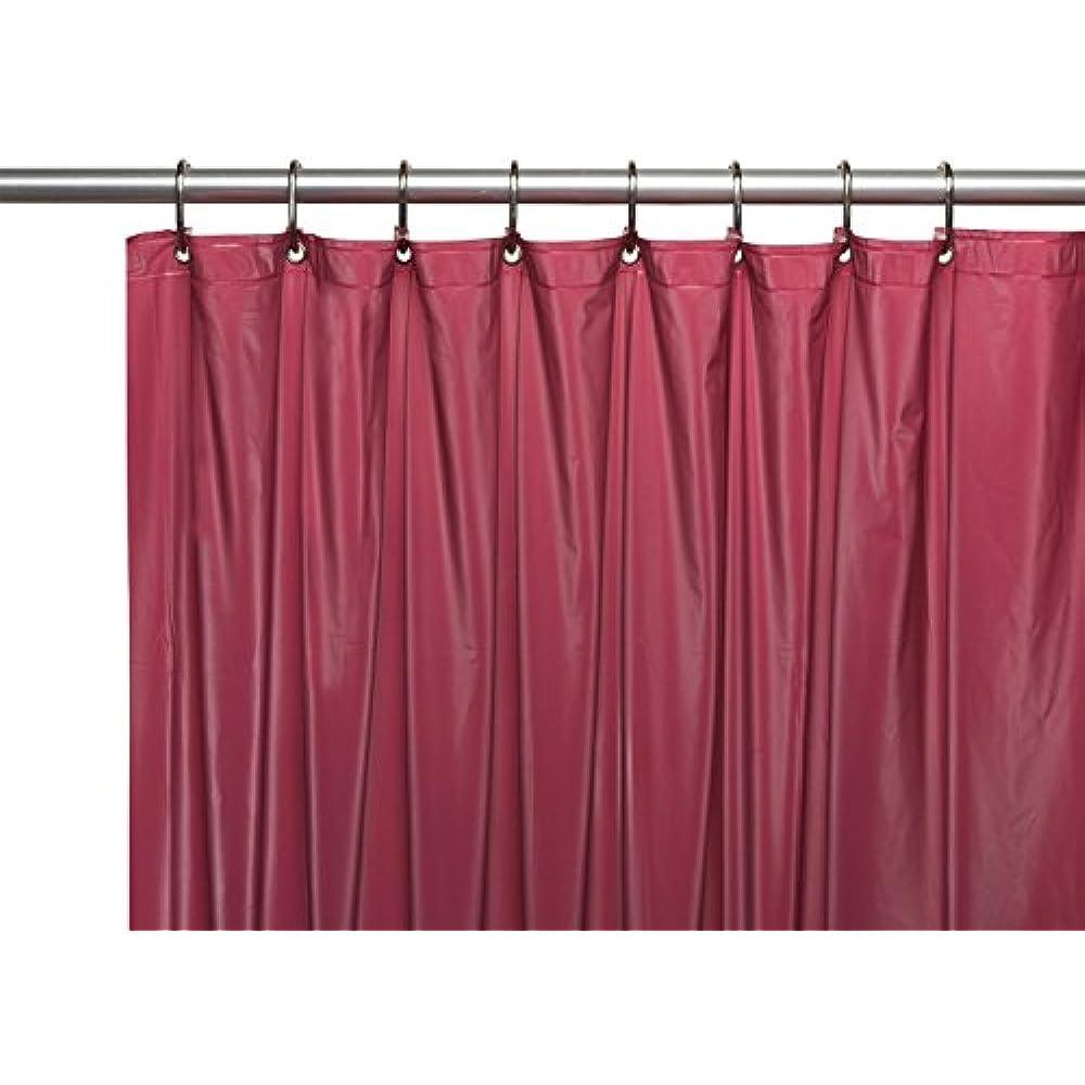Details About Mildew Free Shower Curtain Liners Waterproof Vinyl Burgundy