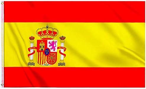 Bandera De España y Española Grande Súper Resistente ✔️ Fabricante Español 💖 Viva España 👆 Si Te Sientes Español 👆 Mira: Amazon.es: Hogar