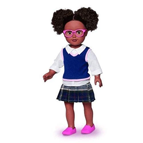 My Life As School Girl Doll, African American, Pink Glasses