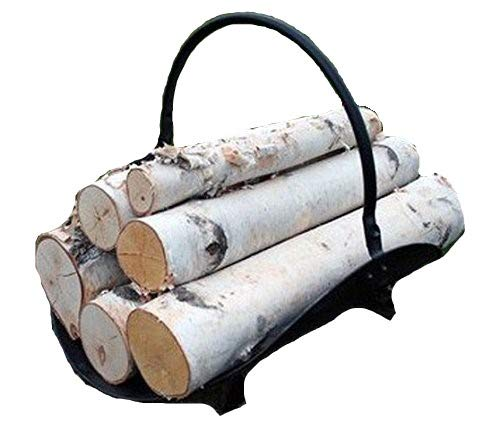 (White Birch Log Set for Fireplace )
