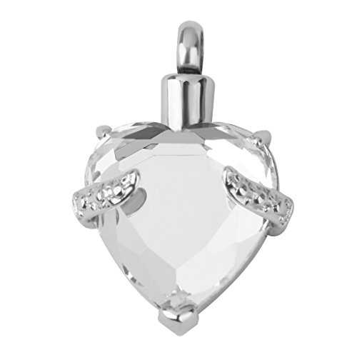 Crystal Cremation Jewellery Keepsake Necklace
