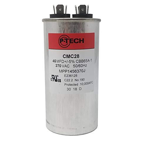 P-Tech USA - AC Motor Run Capacitor - 45MFD 370VAC - ()