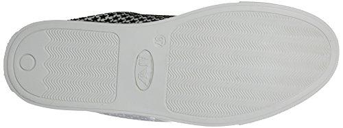 Armani 9251987p587, Sneaker Basse Donna Mehrfarbig (Bianco/Nero)