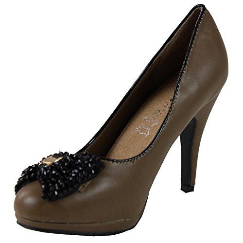 Kebello - Schuhe FL562 - Beige Beige