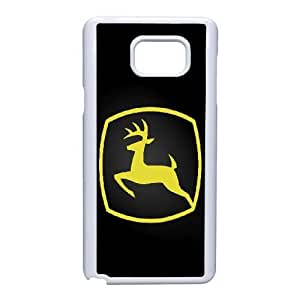 Samsung Galaxy Note 5 Cell Phone Case White John Deere QY7987090