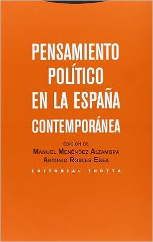Pensamiento político en la España contemporánea Estructuras y ...