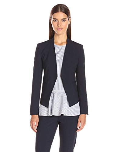 Theory Women's Open Front Lanai Blazer, deep Navy, 10 from Theory