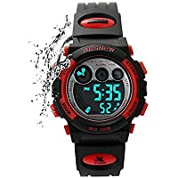 Kids Sports Watches Children For Girls Boys Watch Waterproof Military Dual Display Wristwatches LED Watch